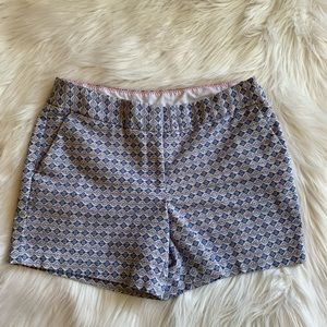 Women's Blue and White Shorts By Kenar Size 2